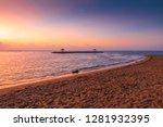karang beach  sanur  bali ... | Shutterstock . vector #1281932395