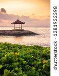 karang beach  sanur  bali ... | Shutterstock . vector #1281932398