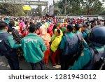 dhaka  bangladesh   january 12  ... | Shutterstock . vector #1281943012