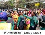 dhaka  bangladesh   january 12  ... | Shutterstock . vector #1281943015