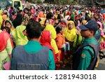 dhaka  bangladesh   january 12  ... | Shutterstock . vector #1281943018