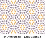 happy valentine's day with... | Shutterstock .eps vector #1281988585