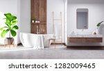modern and  minamalist... | Shutterstock . vector #1282009465