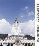 five buddha at wat phra that... | Shutterstock . vector #1282018555