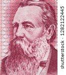 friedrich engels on east german ...   Shutterstock . vector #1282122445