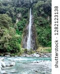 thunder creek falls  new...   Shutterstock . vector #1282123138