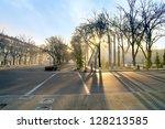 morning in tashkent   Shutterstock . vector #128213585