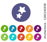 stars icon. simple illustration ...