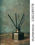 simple aroma reed diffuser ... | Shutterstock . vector #1282189378