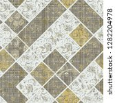 paisley  vintage effect and... | Shutterstock . vector #1282204978