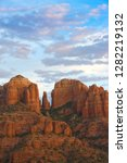 scenic cathedral rock in sedona ... | Shutterstock . vector #1282219132