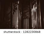 organ in old church in... | Shutterstock . vector #1282230868