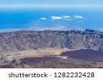 the lava fields of las canadas... | Shutterstock . vector #1282232428