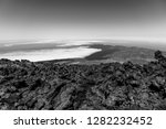 the northern slope and lava... | Shutterstock . vector #1282232452