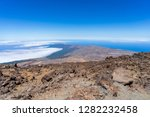 the northern slope and lava... | Shutterstock . vector #1282232458