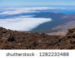 the northern slope and lava... | Shutterstock . vector #1282232488