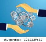 vector illustration  system... | Shutterstock .eps vector #1282239682