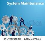 vector illustration  system... | Shutterstock .eps vector #1282239688