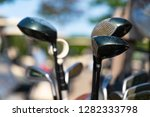 isolated golf clubs | Shutterstock . vector #1282333798