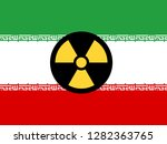 iran nuclear sign   deal... | Shutterstock . vector #1282363765