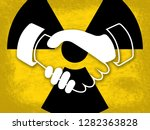 iran nuclear deal negotiation... | Shutterstock . vector #1282363828