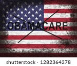 obamacare repeal or replace... | Shutterstock . vector #1282364278