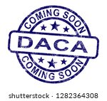 daca kids dreamer legislation... | Shutterstock . vector #1282364308