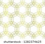 Floral Geometric Pattern....