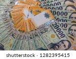 hungarian forint twenty... | Shutterstock . vector #1282395415