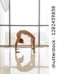 young graceful ballerina in... | Shutterstock . vector #1282459858