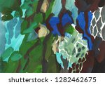 bright multi colored painting ... | Shutterstock . vector #1282462675