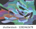 bright multi colored painting ... | Shutterstock . vector #1282462678