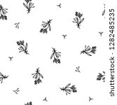 seamless pattern design with... | Shutterstock .eps vector #1282485235