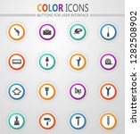 work tools icon set for web... | Shutterstock .eps vector #1282508902
