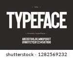 vector typeface bold style... | Shutterstock .eps vector #1282569232