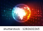 vector digital global... | Shutterstock .eps vector #1282632265