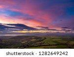 irish landscape during blue... | Shutterstock . vector #1282649242