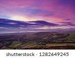 irish landscape during blue... | Shutterstock . vector #1282649245