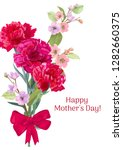 vertical card for mother's day... | Shutterstock .eps vector #1282660375