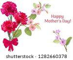 horizontal template card for... | Shutterstock .eps vector #1282660378