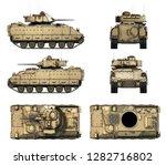 3d Illustration Of M2a2 Bradle...