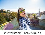 travel and holidays concept  ... | Shutterstock . vector #1282730755