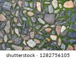 old stone road texture as nice... | Shutterstock . vector #1282756105