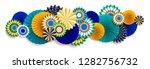 bright carnival composition | Shutterstock .eps vector #1282756732