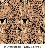seamless camouflage pattern....