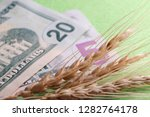 the concept of the cost of... | Shutterstock . vector #1282764178