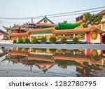 singkawang  west kalimantan ... | Shutterstock . vector #1282780795