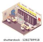vector isometric data center or ... | Shutterstock .eps vector #1282789918