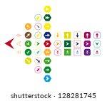 large colorful arrow  2