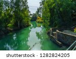 the jordan river and the... | Shutterstock . vector #1282824205
